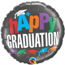 "A+ Graduation Foil Balloon (18"") 1pc"